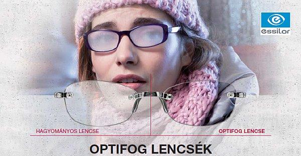 Megoldás a szemüveg párásodására - OPTIFOG szemüveglencse2