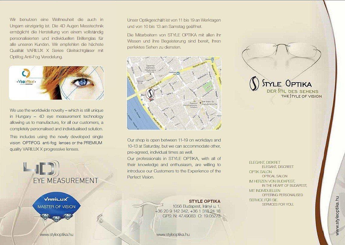 Style Optika leaflet D-EN