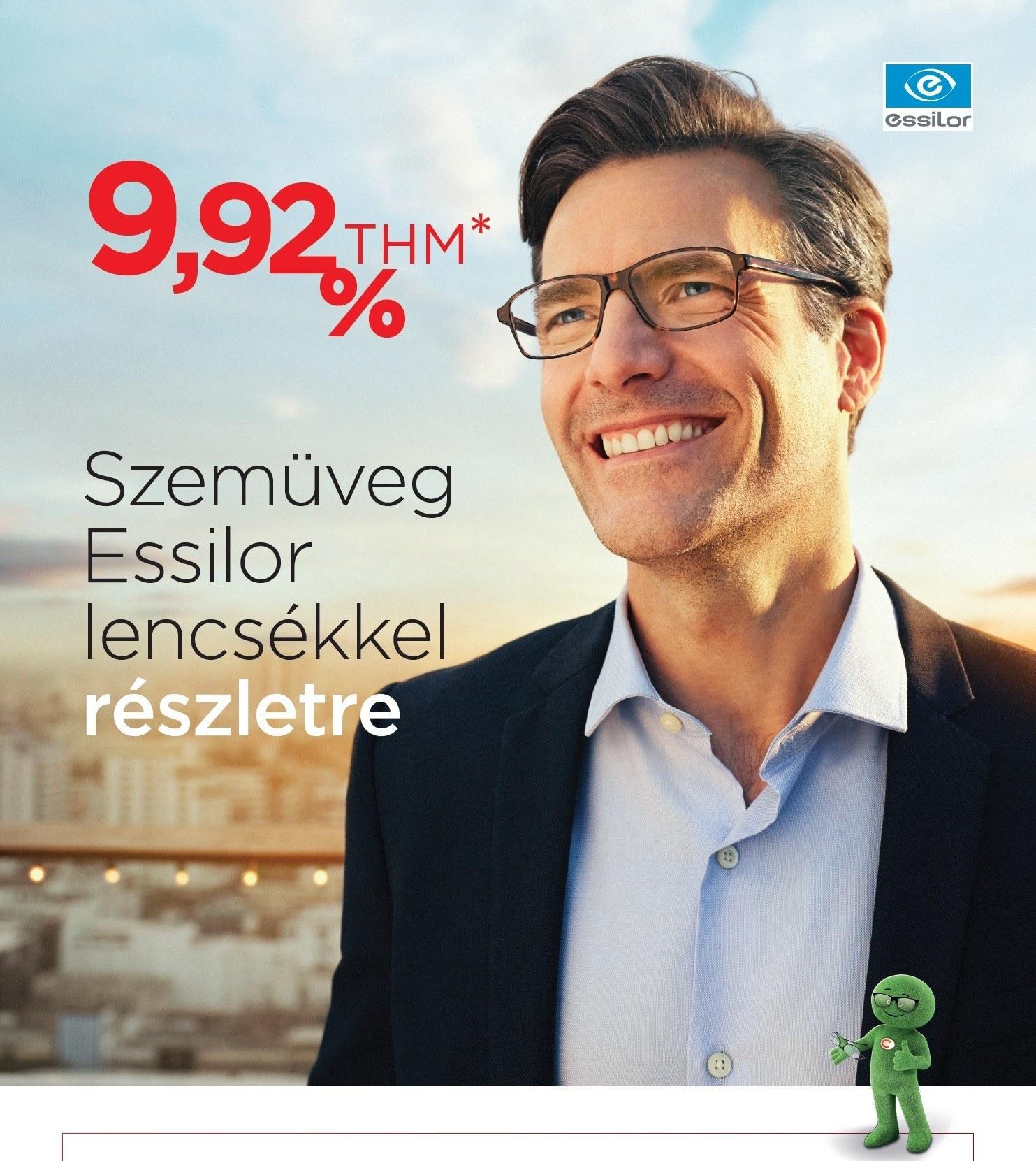 Szemüveghitel 9,92% kamattal akár 36 hónapos futamidőre - Style Optika Budapest