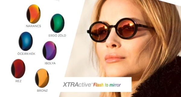 Transitions XTRActive Flash to mirror tükrös lencsék