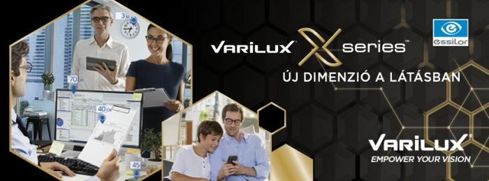 Varilux X multifokális lencse- Új dimenzió a látásban!