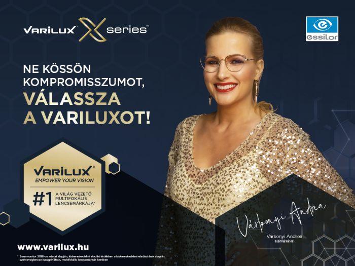 Varilux multifokális szemüveg - Várkonyi Andrea ajánlásával!