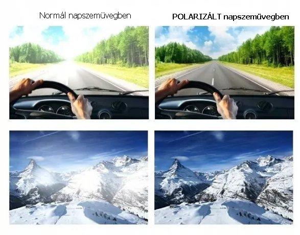 A polarizált napszemüveg előnyei