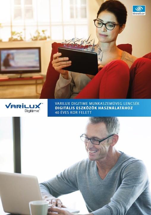VARILUX DIGITIME szemüveg - MEGOLDÁS a digitális világ kihívásaira 45 év felett!