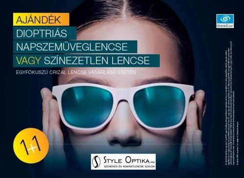 AJÁNDÉK dioptriás NAPSZEMÜVEGLENCSE szemüveg akció!
