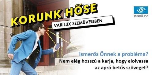 VARILUX 1+1 multifokális szemüveg akció!