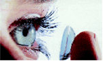 A kontaktlencse szembe helyezése