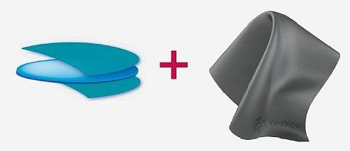 OPTIFOG páramentes szemüveglencse: OPTIFOG Smart Textile törlőkendő