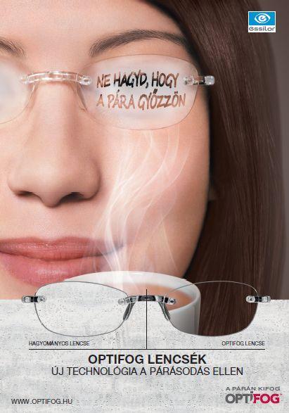 OPTIFOG páramentes szemüveg lencse. szemüveg, optika, Optifog páramentes szemüveg lencse. optika, OPTIFOG szemüveg a párásodás ellen. Szemüveg, optika