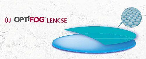 ÚJ OPTIFOG páramentes szemüveglencse
