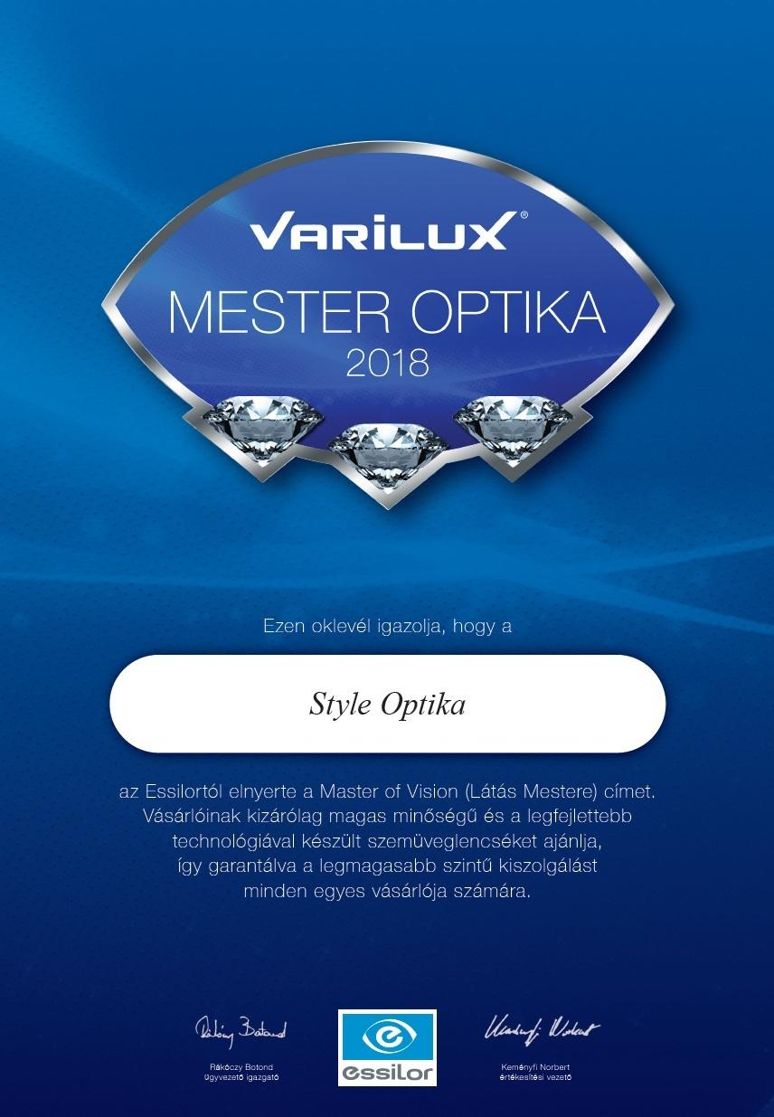 Próbálja ki a progresszív szemüveget mielőtt megrendeli a STYLE OPTIKA üzletében! Varilux progresszív szemüvegek teljes választéka.