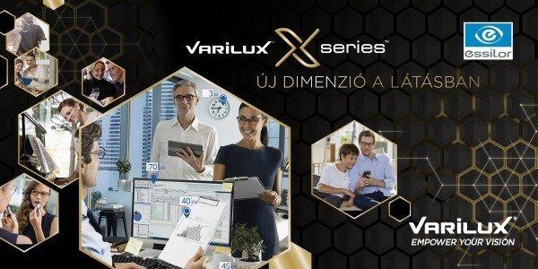 Új Varilux X multifokális lencse